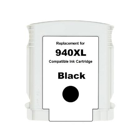 HP 940XL Remanufactured Black Officejet Ink Cartridge