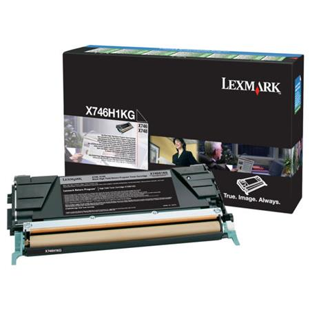 Lexmark X746H1KG Black Original High Capacity Return Program Toner Cartridge
