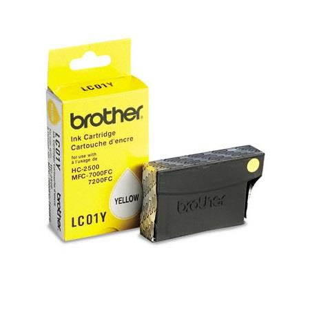 Brother LC01Y Yellow Original Print Cartridge