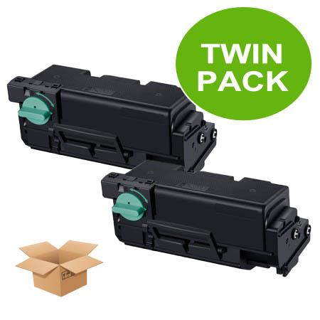 Clickinks MLT-D304E Black Remanufactured Extra High Capacity Toner Cartridge Twin Pack