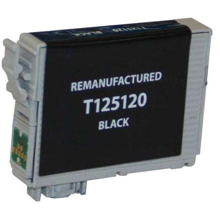 Epson 125 Black Remanufactured Standard Capacity Ink Cartridge