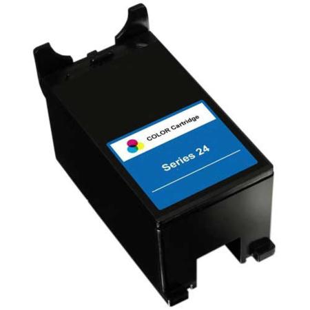 Dell X769N Color Remanufactured High Yield Ink Cartridge (Universal with Dell Series 21  22  23  24)