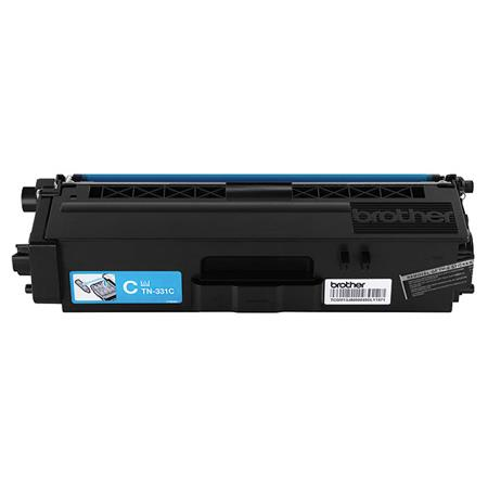 Brother TN331C Cyan Original Standard Capacity Toner Cartridge