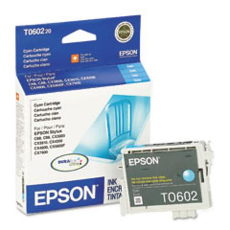 Epson T0602 (T060220) Cyan Original Ink Cartridge