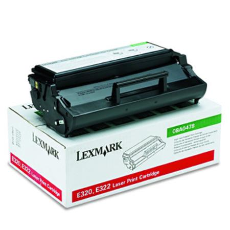 Lexmark 08A0478 Original Black Toner Cartridge