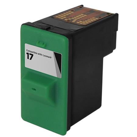 Lexmark No. 17 (10N0217) Moderate Use Black Remanufactured Ink Cartridge