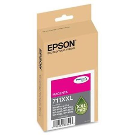 Epson T711XXL (T711XXL320) Magenta Original DURABrite Extra High Capacity Ink Cartridge