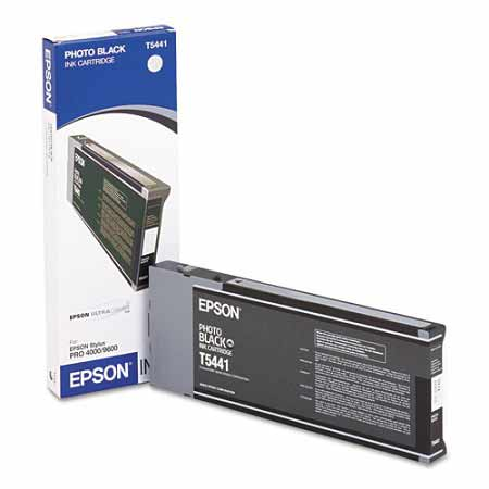 Epson T544100 Photo Black Original UltraChrome Ink Cartridge