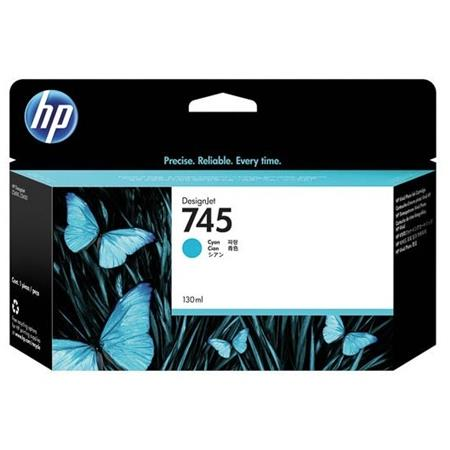 HP 745 (F9J97A) Cyan Original Standard Capacity Ink Cartridge