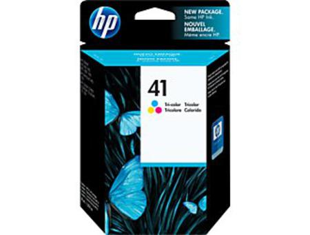 HP 41 Tri-Color Original Inkjet Print Cartridge (51641A)