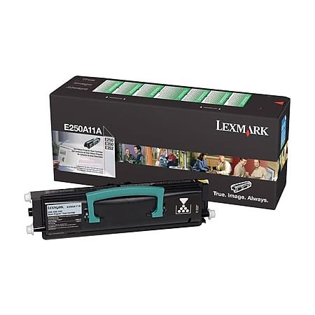 Lexmark E250A11A Black Original High Capacity Return Toner Cartridge