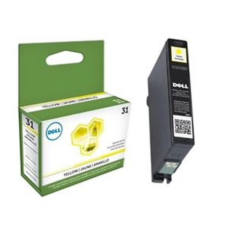 Dell 331-7692 (Series 31) Original Yellow Standard Capacity Single Use Ink Cartridge (4W8HJ)