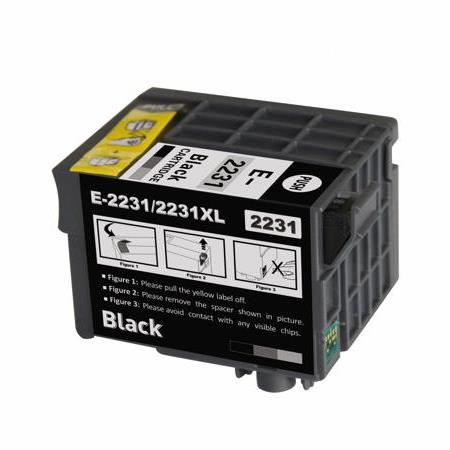 Epson 223XL (T223XL120) Black Remanufactured High Capacity Ink Cartridge