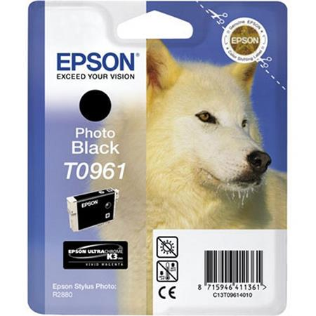 Epson T0961 (T096120) Original Black Ink Cartridge