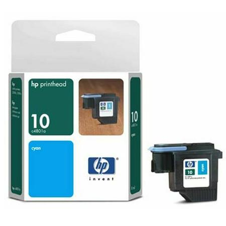 HP 10 Cyan Original Printhead (C4801A)