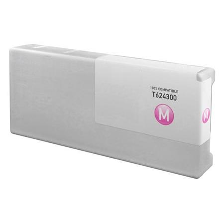 Compatible Magenta Epson T6243 Ink Cartridge (Replaces Epson T624300)