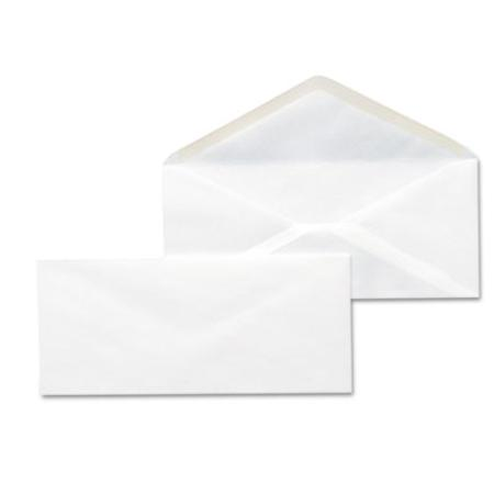 Universal Business Envelope  V-Flap  #10  White  500/Box