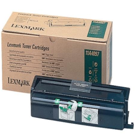 Lexmark 11A4097 Original Black Toner Cartridge Twin Pack