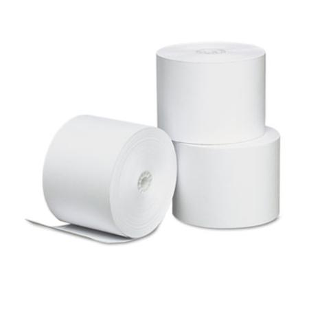 Universal Thermal Paper for Receipt Printers 214in x 165 Roll 3pack