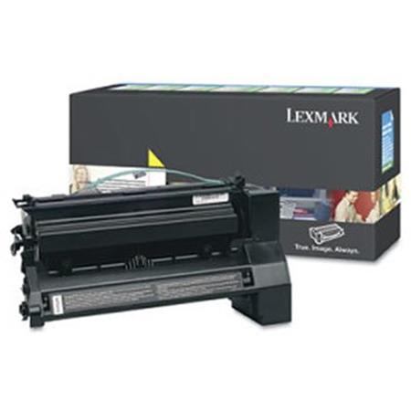 Lexmark C7726YX Original Yellow Extra High Yield Return Program  Laser Toner Cartridge