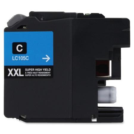 Brother LC105C Cyan Compatible Extra High Capacity Ink Cartridge