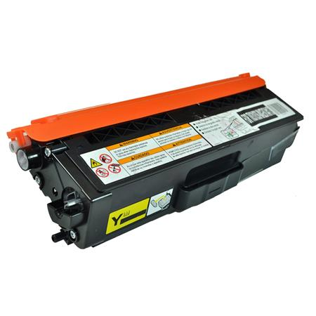 Compatible Yellow Brother TN331Y Standard Yield Toner Cartridge