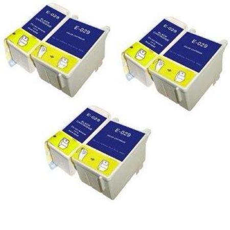 Compatible Multipack Epson T028/T029 3 Full Sets Ink Cartridges