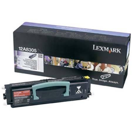 Lexmark 12A8305 Original Black High Yield Toner Cartridge