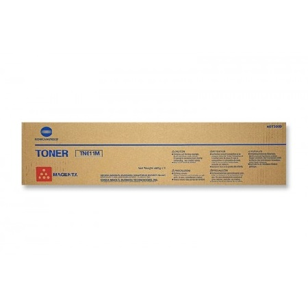 Konica Minolta TN611 Magenta Original Toner Cartridge (A070330)