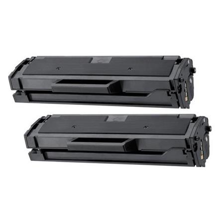 Compatible Twin Pack Black Samsung MLT-D111L Toner Cartridges