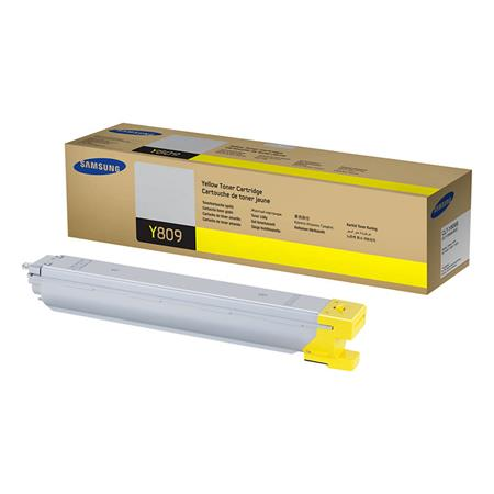 Samsung CLT-Y809S Original Yellow Toner Cartridge