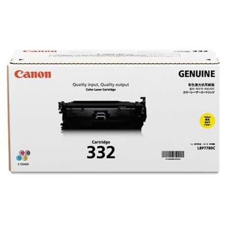 Canon 332 Yellow Original High Capacity Toner Cartridge (6260B012)
