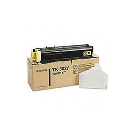 Kyocera TK-502Y Original Yellow Laser Toner Cartridge