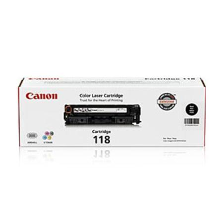 Canon 118 Black Original Toner Cartridge