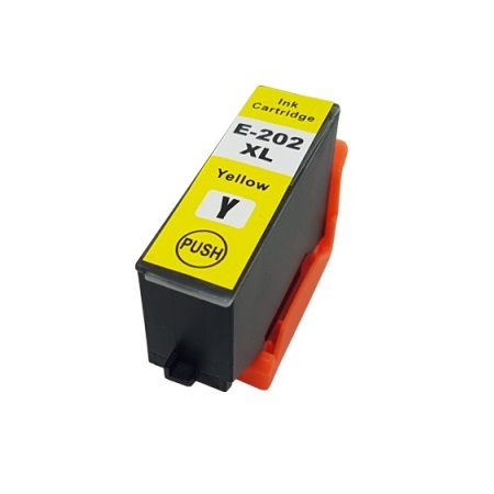 Epson 202XL (T202XL420-S) Yellow Remanufactured High Capacity Ink Cartridge