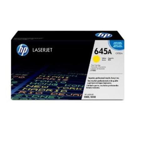 HP Color LaserJet C9732A Yellow Original Print Cartridge with Smart Printing Technology