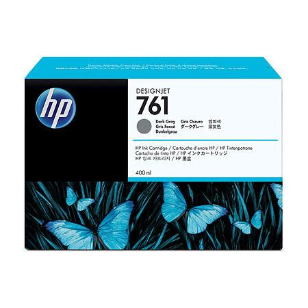 HP 761 Dark Gray Original Ink Cartridge (CM996A) (400ml)