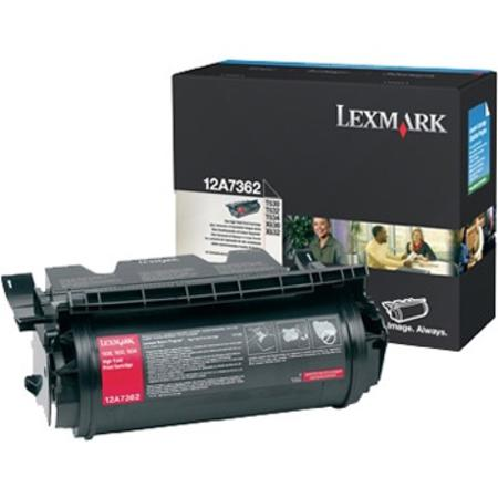 Lexmark 12A7362 Original Black High Capacity Toner Cartridge