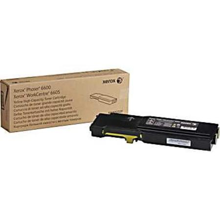 Xerox 106R02227 Yellow Original High Capacity Toner Cartridge