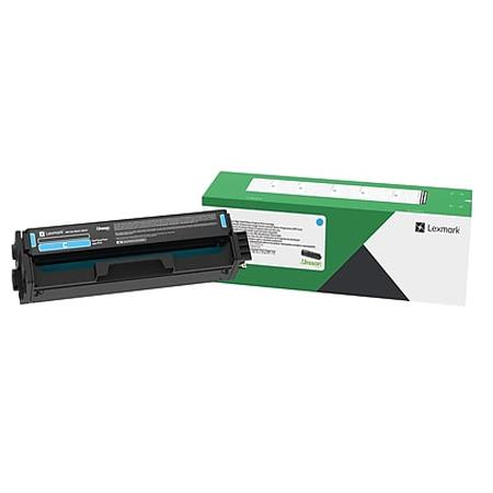 Lexmark C331HC0 Original Cyan High Yield Toner Cartridge