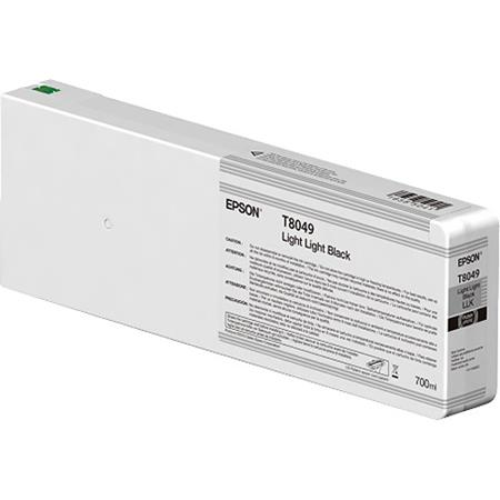 Epson T8049 (T804900) Light Light Black Original UltraChrome HD Ink Cartridge (750 ml)
