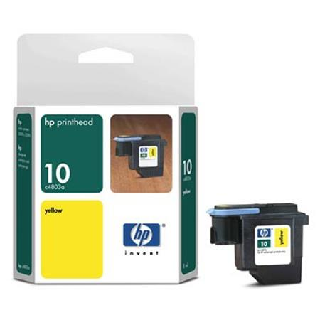 HP 10 Yellow Original Printhead (C4803A)