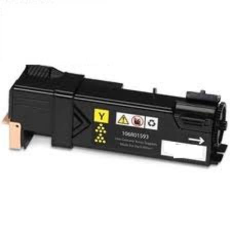 Xerox 106R01596/106R01593 Remanufactured Yellow High Capacity Toner Cartridge