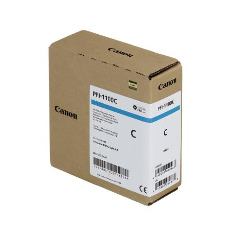 Canon PFI-1100C Cyan Original Ink Cartridge (160ml)