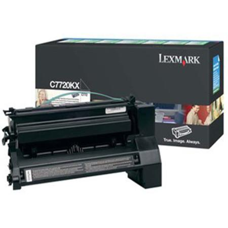 Lexmark C7720KX Original Black Extra High Yield Return Program  Laser Toner Cartridge