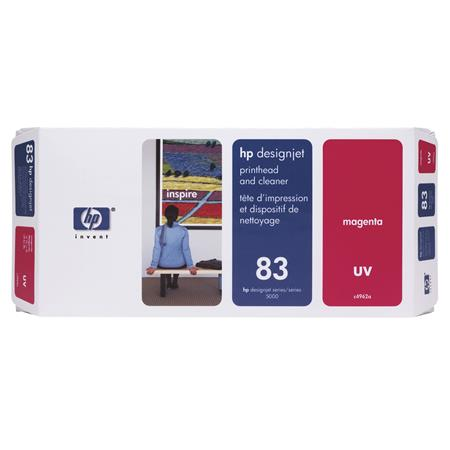 HP 83 (C4962A) Magenta Original UV Printhead and Cleaner
