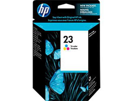 HP 23 Tri-Color Original Inkjet Print Cartridge (C1823D)