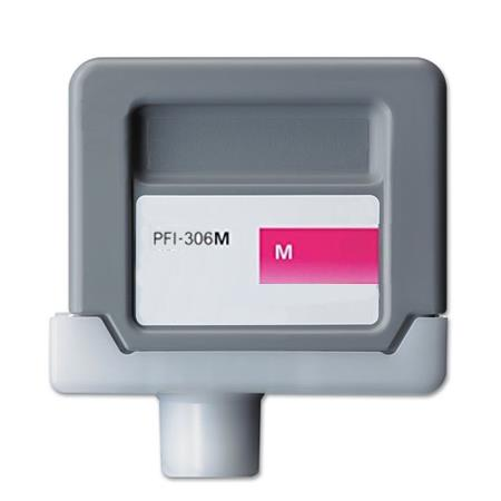 Compatible Magenta Canon PFI-306M Ink Cartridge (Replaces Canon 6659B001AA)