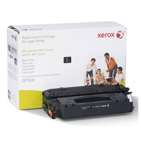 Xerox Premium Replacement Black Extended Capacity Toner Cartridge for HP 53X (Q7553X)