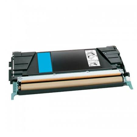 Lexmark C736H1CG Cyan Remanufactured High Yield Return Program Toner Cartridge